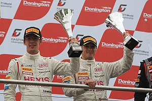 Blancpain Sprint Race report Reiter Engineering at the Podium in Donington on GT1 season final event