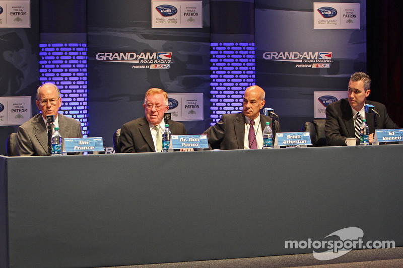 Grand-Am, ALMS officials discuss with manufacturers next steps to unification