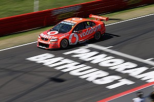 Supercars Practice report TeamVodafone's Whincup fastest in Bathurst's final practice