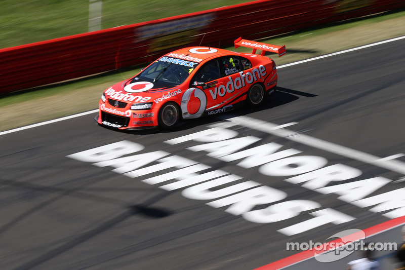 TeamVodafone's Whincup fastest in Bathurst's final practice