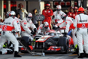 Formula 1 Rumor McLaren chose Button over Hamilton's farewell party