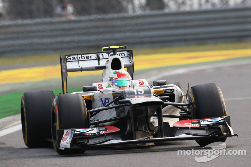 Sauber had an eventful but fruitless Korean Grand Prix