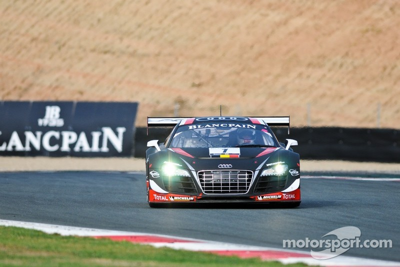 The Belgian Audi Club Team WRT wins both Drivers and Teams Blancpain titles