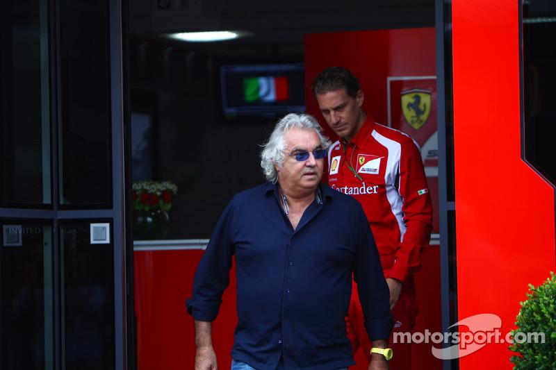 Alonso cannot win title with Ferrari car - Briatore