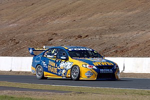 Supercars Race report Even after extensive crash IRWIN Ford will  race Sunday at Gold Coast