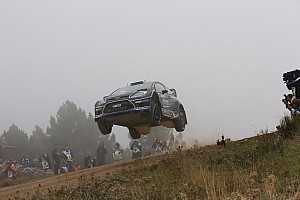 WRC Leg report M-Sport duo maintain podium positions in Sardinia