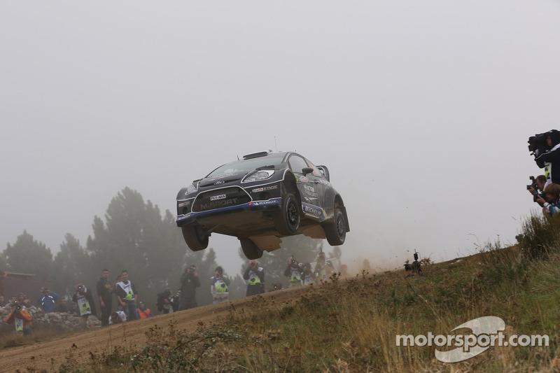 M-Sport duo maintain podium positions in Sardinia