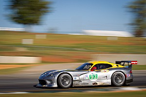 ALMS Race report SRT Viper team continues learning process at Petit Le Mans