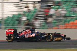 Formula 1 Practice report Smoothly Indian GP Friday practice for Toro Rosso