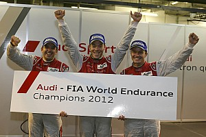 WEC Race report Fässler, Lotterer and Tréluyer are the first WEC Driver World Champions
