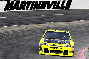 NASCAR Cup Race report Richard Childress Racing teammates survived Martinsville 500