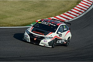 WTCC Preview Tiago Monteiro back behind the wheel of the Honda Civic in China