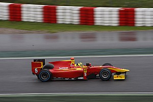 FIA F2 Testing report Racing Engineering completes a successful two days at the Barcelona post-season test