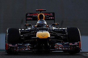 Formula 1 Practice report Vettel sets fast practice lap in the coolness of the night in Abu Dhabi