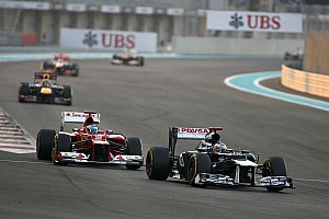 Formula 1 Race report Double points finish for Williams at Yas Marina Circuit