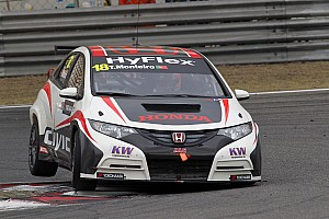 WTCC Preview Tiago Monteiro at the wheel of the Honda Civic for season finale in Macau