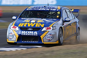 Supercars Practice report Warm welcome for IRWIN Racing at Winton
