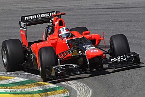 Formula 1 Practice report Marussia spent Friday limbering up for Sunday's 'Last Samba' on Brazilian GP