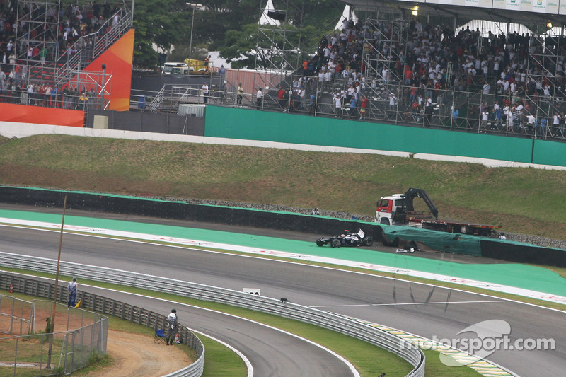 A disappointing final race of the season for the Williams in São Paulo