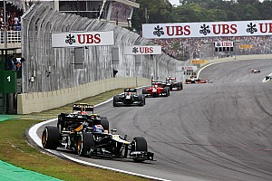 Formula 1 Race report Caterham regain vital tenth place on 2012 Constructor's Championship at Interlagos