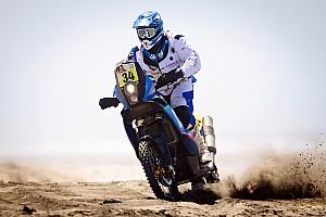 Dakar Breaking news Alessandro Botturi at the Dakar with Husqvarna Rallye Team By Speedbrain
