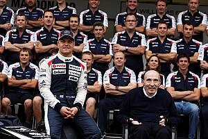 Formula 1 Interview Frank Williams on his team's future with Maldonado and Bottas