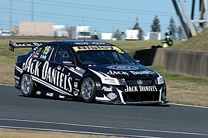 Supercars Practice report Jack Daniel's Racing Friday practice at Homebush Circuit
