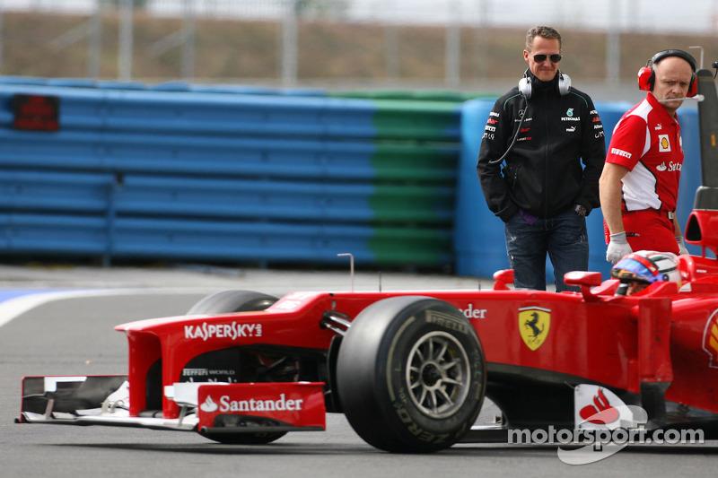 Ferrari rules out F1 return for Schumacher