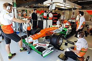 Formula 1 Rumor Force India in talks for Ferrari power