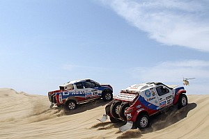 Dakar Stage report G-Force Team completes stage 2 in Peru