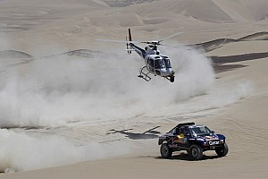 Dakar Stage report Al-Attiyah, Lopez ride dunes to stage three victories