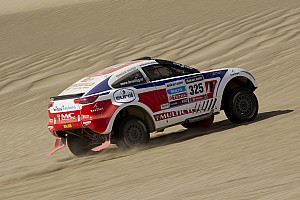 Dakar Stage report Riwald team impressed by Wevers on stage 3