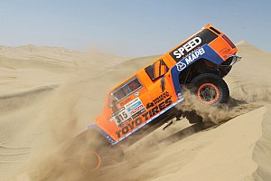 Dakar Stage report SPEED Energy's Gordon runs into trouble on stage 4