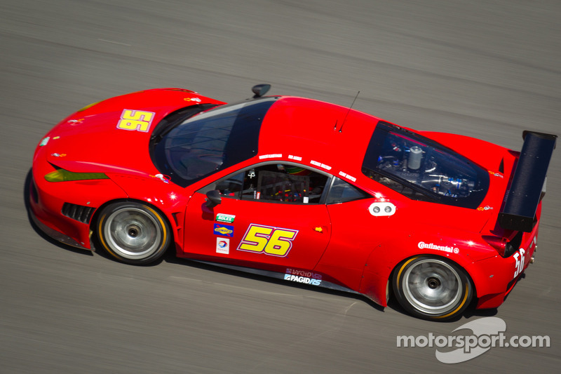 Ferraris, Audis have strong showing in Daytona 24H testing