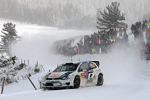 WRC Leg report Ogier and Ingrassia maintain second in day 2 of Rallye Monte Carlo