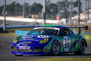 Grand-Am Qualifying report Napleton Racing scores historic GX pole position for Daytona 24H