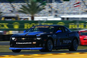 Grand-Am Qualifying report Mitchum Camaro qualifies for SCC season opener at Daytona
