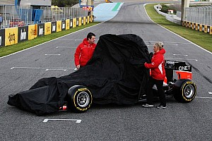 Formula 1 Breaking news MR02 - Marussia's 2013 car is boosted by KERS
