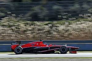 Formula 1 Testing report Marussia and Chilton has productive day three at Jerez testing