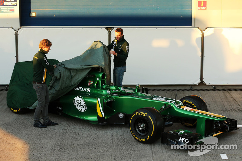 """The """"unchained"""" video  from Caterham"""