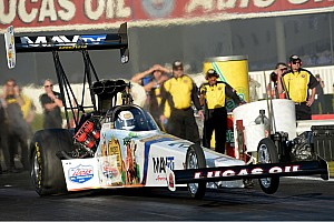 NHRA Race report Bernstein reaches second round in finals at Pomona