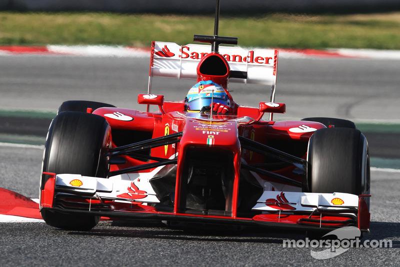 New Ferrari 'ok' says Alonso