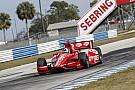 IndyCar teams enjoy their days in sunny Florida