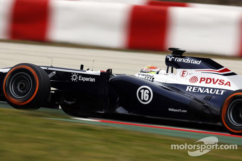 Maldonado and Bottas log 147 laps on day three testing in Barcelona