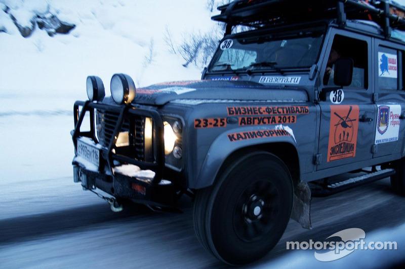 World's longest motorsport event starts in the Arctic
