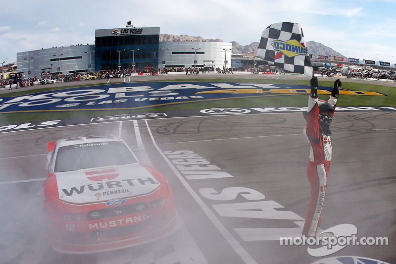 Dominant performance leads to Hornish win at Vegas