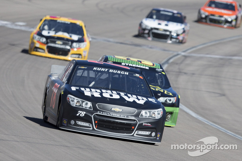 Kurt Busch salvages 20th-place finish in Las Vegas