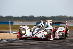 ALMS Qualifying report Muscle Milk Pickett Racing kicks off 2013 season with second row start at Sebring
