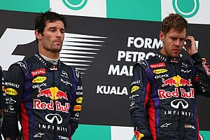 Formula 1 Breaking news Vettel apologizes to Webber after late on-track battle at Sepang