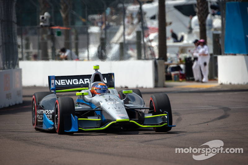 Clutch issues spoil St. Petersburg for Newgarden and SFHR